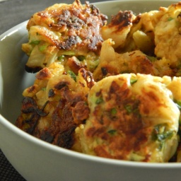 Boulettes veggie : courgette, fromage, curry
