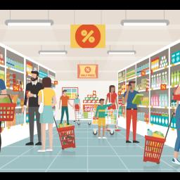 Les 6 commandements des courses au supermarché : mieux, tu mangeras!